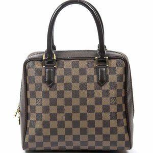 Authentic Louis Vuitton Brera Damier Ebene Bag